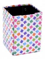 Kelímek na tužky Karton P+P - Lamino Cubes 8-00618