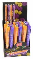 Propiska Easy Venturio fialová, oranžová 24 ks 837555