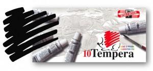 Temperová barva KOH-I-NOOR čerň kostní 16 ml