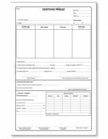 Cestovní příkaz A4 s vyúčtováním ET 235