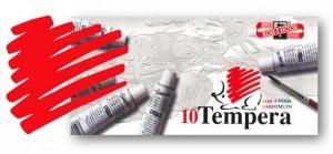 Temperová barva KOH-I-NOOR rumělka červená světlá 16 ml