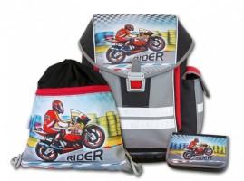 Školní aktovkový set Ergo One Rider 3 dílný C-8010-2.112