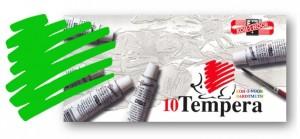 Temperová barva KOH-I-NOOR rumělka zelená světlá 16 ml