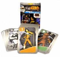 Dětské hrací karty 2 v 1 - Černý Petr + Karetní pexeso - Star Wars - Rebels - 2624