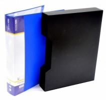 Desky prezentační - Economix - 80 l - modrá