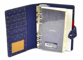 Diář Filofax Denim Dots kapesní 027034