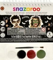 Obličejové barvy - Snazaroo - A6 s postupem - Halloween - 1172043