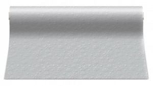Stolní běhoun - Winter Flakes - stříbrný - ATR001208