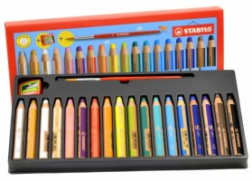 Pastelky Stabilo Woody 3 v 1 - Colored Pencil - 880/18-3