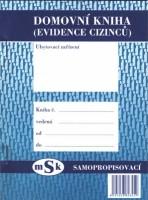 Domovní kniha (evidence cizinců) -  mSk 345