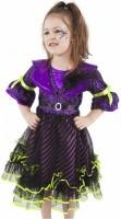 Karnevalový kostým - Čarodějnice/Halloween fialová vel. M - 176126