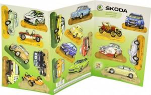 Vystřihovánky - Škoda - 2008