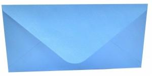 Obálka DL s ražbou - sv. modrá - 0650