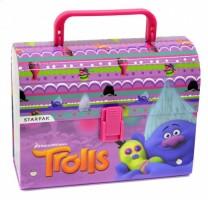Kufřík dětský lamino s ručkou - Trolls - 353585