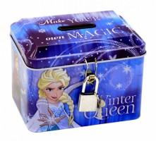 Pokladnička kovová se zámečkem - Frozen - 374464