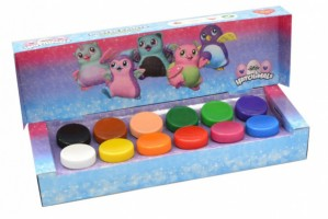 Plakátové barvy Hatchimals - 12 barev / 20ml  405886