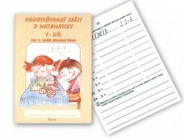 Procvičovací sešit z matematiky pro 2. ročník 1. díl