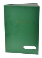 Podpisová kniha 16L - zelená