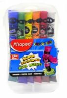 Temperové barvy Maped - plastový box - 12 ks x 12 ml 0144/9810520