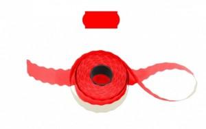 Cenové - značkovací etikety 26 x 12 Contact signální červené