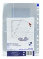 Průhledný obal A4 na CD s eurozávěsem - obal na 2 CD /10 ks - 2-027