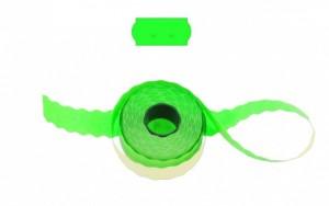 Cenové - značkovací etikety 26 x 12 Uni signální zelené