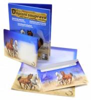 Dopisní souprava Lux 5+10 - barevná - Kůň 2 - 5550261