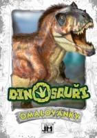 Omalovánky A5+ - Dino - 1777-4