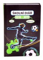 Školní diář - Fotbal (září 2018 – prosinec 2019), 9,8 x 14,5 cm - PGD-6078