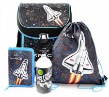 Školní set Karton P+P - Premium Raketa + dárek - Láhev na pití