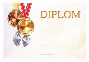 Diplom A5 - Medaile BD060