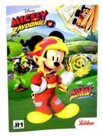 Omalovánky A5+ Mickey a závodníci - 1196-3