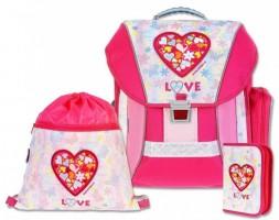 Školní batohový set Emipo -  Love 3-dílný  C3-7910-3.116