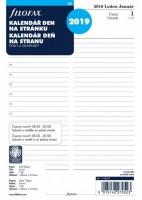 Kalendář Filofax A5  - Den na 1 stranu 2019 - 6858019