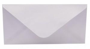 Obálka DL s ražbou metal - Bílá - 190562