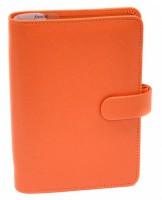 Diář Filofax - Saffiano - osobní - oranžová - 022587