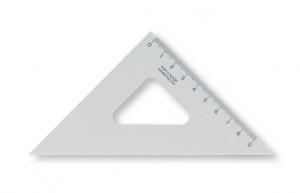 Trojúhelník transparentní 45/113