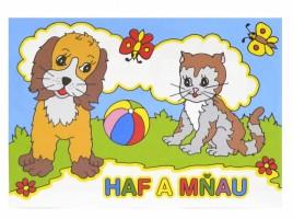 Omalovánky A5 - Haf a Mňau - Jiko