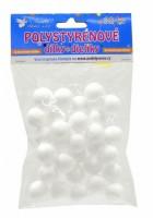 Polystyrenové kuličky 2 cm - 32 ks - 6707