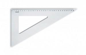 Trojúhelník transparentní 29 cm - 60/320