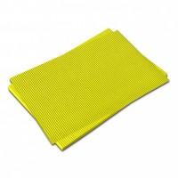 Vlnitá lepenka-světle žlutá 50 x 70 cm
