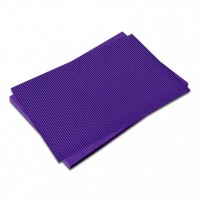 Vlnitá lepenka-tmavě fialová 50 x 70 cm