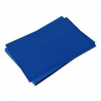 Vlnitá lepenka-tmavě modrá 50 x 70 cm