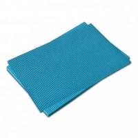 Vlnitá lepenka-světle modrá 50 x 70 cm