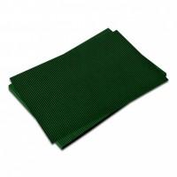 Vlnitá lepenka-tmavě zelená 50 x 70 cm