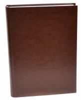 Kronika A4 200 listů - bez tisku hnědá