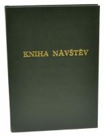 Kniha návštěv A4 100 listů - zelená