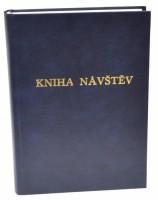 Kniha návštěv A4 - čistá -200 listů - modrá