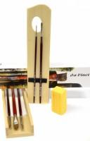 Da Vinci - set vlasových štětců na olejomalbu - 5242