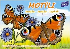 Omalovánky A5 - Motýli - 5300701